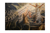 Christ in the Realm of the Dead, 1892-1894 Giclée-tryk af Joakim Skovgaard