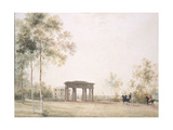 Gateway to the Park in Tsarskoye Selo, after 1821 Giclee Print by Andrei Yefimovich Martynov
