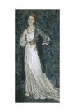 Portrait of Marina Makovskaya, 1912 Giclee Print by Alexander Yakovlevich Golovin