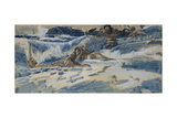 Playing Naiads and Tritons, 1896-1898 Giclee Print