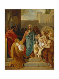 Christ Blessing the Children, 1824 Giclee Print by Karl Pavlovich Briullov