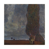 Approaching Thunderstorm (The Large Poplar I), 1903 Giclee Print by Gustav Klimt