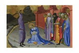 The Beheading of Saint Margaret, C.1410 Giclée-tryk af Gherardo Starnina