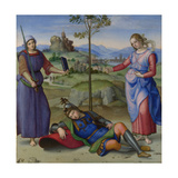 An Allegory (Vision of a Knigh), C. 1504 Giclee Print by  Raphael