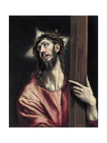 Christ with the Cross, Ca. 1587-1596 Giclee Print by  El Greco