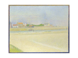 The Channel of Gravelines, Grand Fort-Philippe, 1890 Giclee Print by Georges Seurat