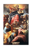 The Assumption of the Blessed Virgin Mary, 1600-1601 Giclée-tryk af Annibale Carracci