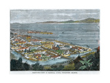 Bird's Eye View of Manilla, Luzon, Philippine Islands, C1880 Giclee Print