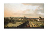 Vienna Viewed from the Belvedere Palace, 1759-1760 Giclee Print by Bernardo Bellotto
