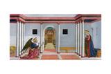The Annunciation, C1445 Giclée-tryk af Domenico Veneziano