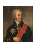 Portrait of Ioasaph Arbenev, 1799 Giclee Print by Vladimir Lukich Borovikovsky