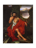 Gaius Marius Amid the Ruins of Carthage, 1807 Giclee Print by John Vanderlyn