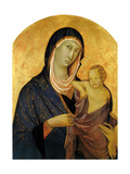 Madonna and Child, Ca 1320 Giclee Print by Segna Di Bonaventura