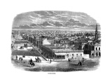 Bourke Street, Melbourne, Australia, 1863 Giclee Print