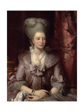 Queen Charlotte of the United Kingdom (1744-181), 1777 Giclee Print by Benjamin West