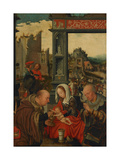 The Adoration of the Kings, 1525 Giclee Print by Jan Mostaert