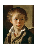 Portrait of the Artist's Son, Ca 1818 Giclee Print by Vasili Andreyevich Tropinin