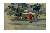 The Doukhobors in Borjomi, 1895 Giclee Print by Viktor Elpidiforovich Borisov-musatov