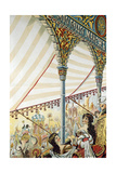 Poster for the Moscow Circus Ring, 1898 Giclee Print by N. Denisov