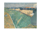 The Western Railway at its Exit from Paris, 1886 Giclee Print by Charles Angrand