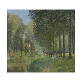 Rest Along the Stream, Edge of the Wood, Ca 1878 Giclee Print by Alfred Sisley