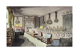 Alexander Ross's Ornamental Hair and Perfumery Warehouse, Bishopsgate, London, 1816 Giclee Print by Thomas Hosmer Shepherd