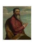 Praying Man with a Long Beard, Ca 1545 Giclee Print by Moretto Da Brescia