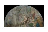 Saint Didacus Preaching, 1604-1607 Giclee Print by Annibale Carracci