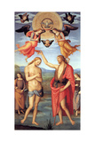 Baptism of Christ, C. 1512 Giclee Print by  Perugino