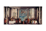 Feast in the House of Simon the Pharisee, 1570 Giclee Print by Paolo Veronese