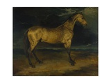 A Horse Frightened by Lightning, Ca 1814 Giclee Print by Théodore Géricault