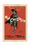 Poster for the Oper the Chieftain, 1894 Giclee Print by Dudley Hardy