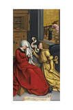The Annunciation to Saint Anne, Ca. 1505-1510 Giclee Print by Bernhard Strigel