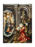Saint Luke Painting the Madonna, C. 1520 Giclee Print by Jan Gossaert