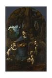 The Virgin of the Rocks, Between 1492 and 1508 Giclee Print by  Leonardo da Vinci