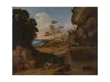 The Sunset (Il Tramont), 1506-1510 Giclee Print by  Giorgione