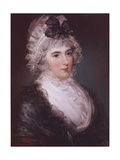 Portrait of Mrs Janet Grizel, 1794 Giclee Print by John Russell