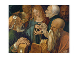Christ Among the Doctors, 1506 Giclee Print by Albrecht Dürer