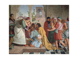 Joseph Reveals Himself to His Brothers, 1817 Giclee Print by Peter Von Cornelius