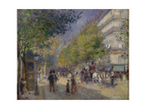 The Grands Boulevards, 1875 Giclee Print by Pierre-Auguste Renoir