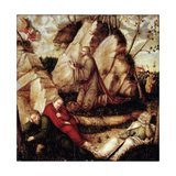 The Agony in the Garden Giclee Print by Lucas Cranach the Elder