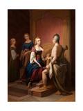 Heimdall Returns the Brisingamen to Freya, 1846 Giclee Print