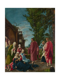 Christ Taking Leave of His Mother, C. 1520 Giclee Print by Albrecht Altdorfer