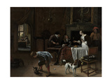 Easy Come, Easy Go, 1661 Giclee Print by Jan Havicksz Steen