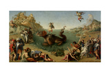 Andromeda Freed by Perseus, 1510-1515 Giclee Print by Piero di Cosimo