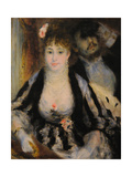 La Loge (The Theatre Bo), 1874 Giclee Print by Pierre-Auguste Renoir