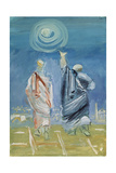 Lucretius Points to the Sun Giclee Print by Vera Mikhailovna Yermolayeva