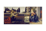 The Annunciation, Ca 1471-1472 Giclee Print by  Leonardo da Vinci