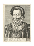 Portrait of King Henry IV of France, Ca. 1600 Giclee Print by Hendrick Goltzius