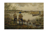 Returning from the Hunting, 1937 Giclee Print by Ernest Ernestovich Lissner